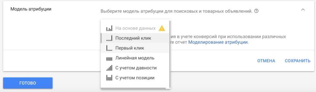 Модели атрибуции в Google AdWords – как они работают и зачем нужны