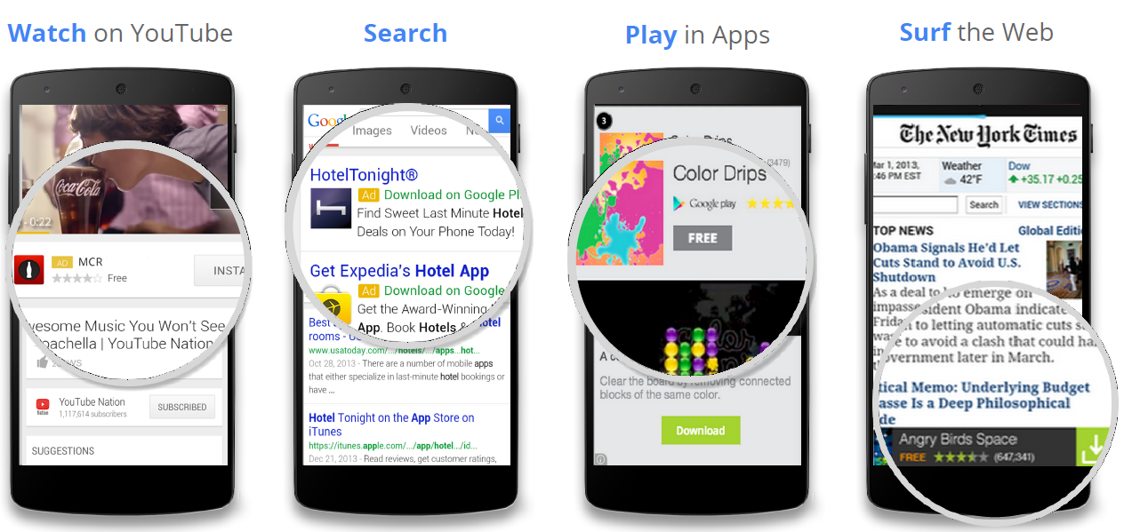 Как не показывать рекламу в мобильных приложениях в Google